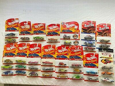 Hot Wheels Lot of 35 Classics Flying Colors Since 68