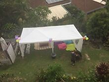 3m X 6m Gazebo Marquee - White with clear windows. The Gap Brisbane North West Preview