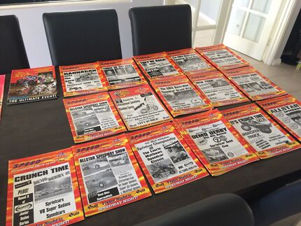 Old Claremont speedway programs  Wanneroo Wanneroo Area Preview
