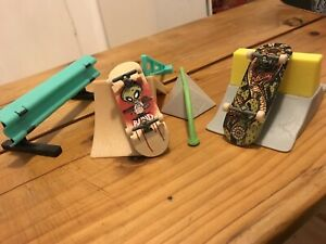 Tech Deck Pro Boards and Street Hits