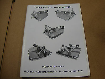 Howse 5 6 7 Foot Rotary Mower Operators Manual