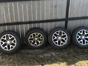 """2018 GMC 20"""" Rims and Tires"""