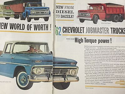 Vintage Chevrolet Jobmaster Truck Ad 1961