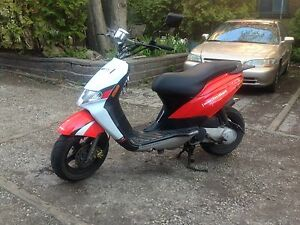 2008 derbi bullet w/ SAFETY