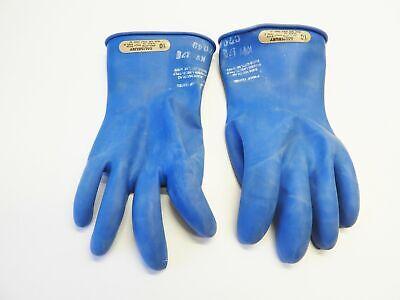 Salisbury D120 Electrical Gloves Class 00 Type Ii 500v Size 10 Blue