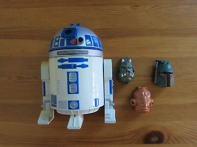 4x Star Wars Set Spieldose R2D2 Mini ähnlich Polly Pocket mini oder Mighty Max segunda mano  Embacar hacia Argentina