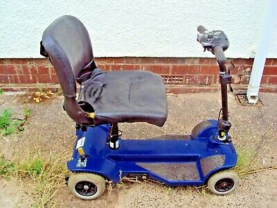 PRIDE LIBRE MOBILITY BOOT SCOOTER 4MPH PAVEMENT SCOOTER NEW BATTERY VGC