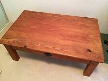 SOLID PINE COFFEE TABLE ~ NO STAINS Botany Botany Bay Area Preview
