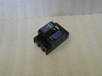 Mitsubishi No-Fuse Circuit Breaker NF30-CS, 15 Amp, w/ Covers, Used, Warranty