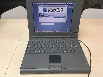 Vintage Macintosh PowerBook Duo 2300c 32MB RAM 750MB HD