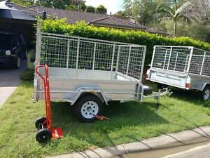 7 X 5 big cage trailer $30 for the day