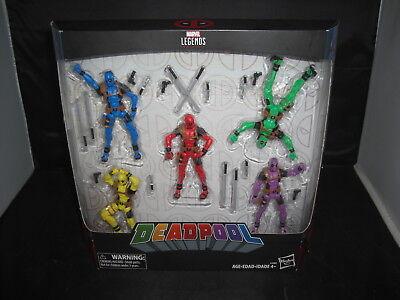 "Marvel Legends Series Deadpool 5 Pack 3.75"""