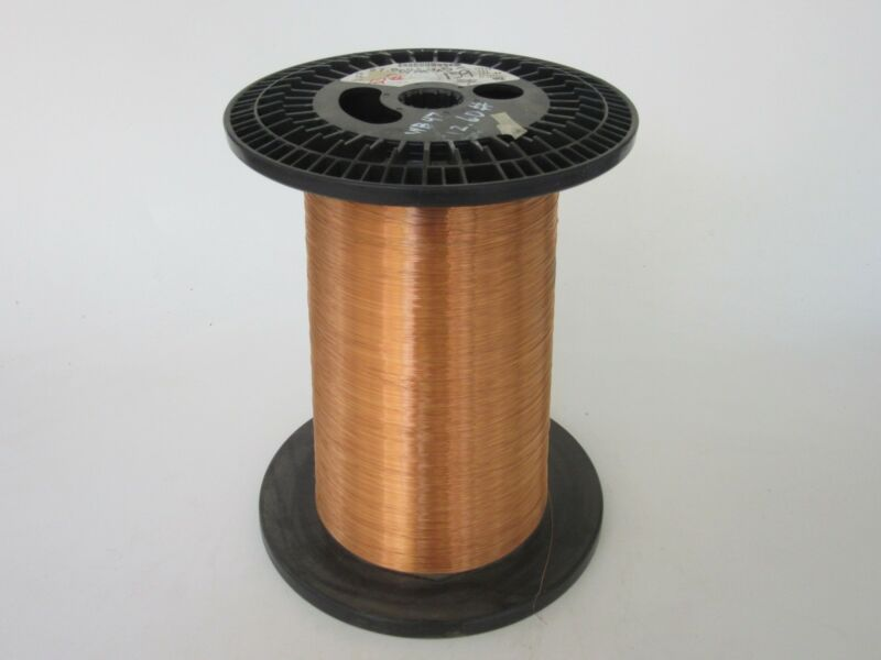27 AWG   9.6 lbs.  Phelps Single TZT Enamel Coated Copper Magnet Wire
