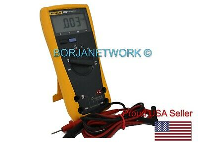 Fluke 77 Iii With Test Leads Included - Good Conditions