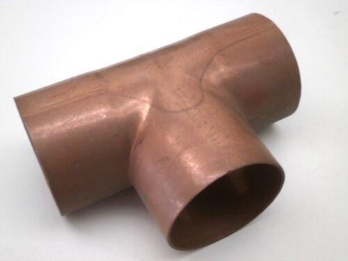 "EPC Two-Inch 2"" Copper Pipe Fitting Slip Union TEE C x C, 2"" x 2"" x 2"""