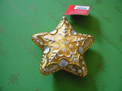 Christopher Radko My PEO Star Glass Ornament