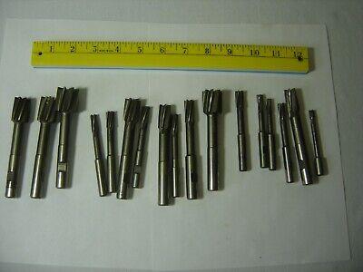 Weldon Jig Bore Reamers Hss Lot Of 17 From .25 - 1 Mach. Cutting Tool 34 Endm