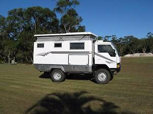 Mitsubishi Canter 4WD Doonan Noosa Area Preview