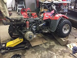 Looking for Suzuki King Quad 300 or Quadrunner 250 for parts