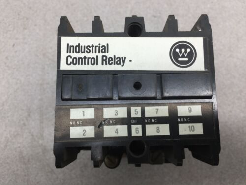 NEW NO BOX WESTINGHOUSE CONTROL RELAY ARD4S