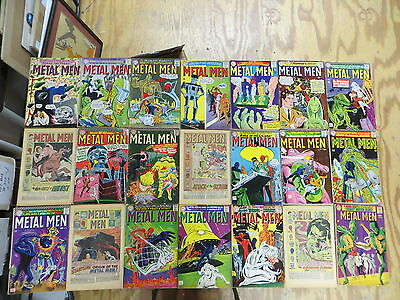 METAL MEN 21 ISSUE SILVER COMIC RUN 12-32 DC FLORIDA