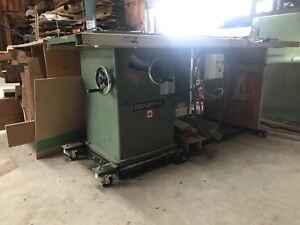 General 350 Table saw 3hp