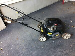 21 gas powered mower