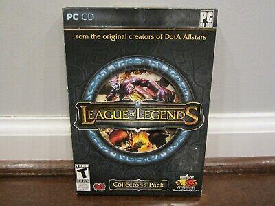 League of Legends Collector's Pack (PC, 2009) (Windows XP / Vista CD)
