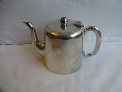 Vintage Art Deco Silver Plated Teapot 1 Pint T Wilkinson Sheffield
