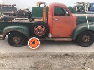 """""""The. OTHER TRUCK"""" Studebaker pick up from the BARN"""