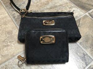 Micheal Kors wristlet and matching wallet