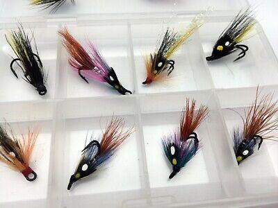 salmon//seatrout flies- black /& gold partridge silver double size 15
