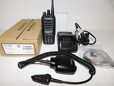 Kenwood Nx-5300 Uhf 450-512mhz Dmr P25 Nxdn Digital Portable Radio With Aes-256