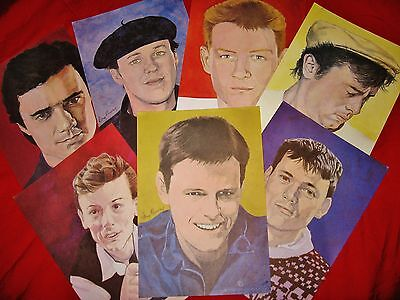 MADNESS - SEALED SET OF 7x A4 SIZE COLOUR PRINTS OF THE BAND FROM 1981 - SUGGS