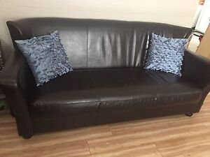 Couch - Faux Leather