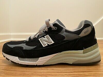 New Balance M992BK Made in USA Size 10.5 Black/Grey New, Unworn Steve Jobs