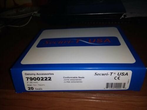 Genairex Securi-T Conformable Barrier Seals #7900222 - 20 Per Pack