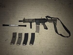Tippman TMC with attachments