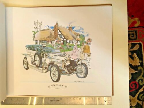 KEN DALLISON Signed Numbered The Spirit 75 Years Book Rolls Royce 24 lithographs