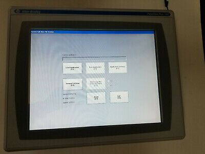 Allen Bradley 2711p-t15c4d8 Series A Panelview Plus 6 1500 Color Touch Mint