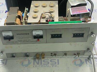 Hughes Model Mcw-550 Constant Voltage Welding Power Supply