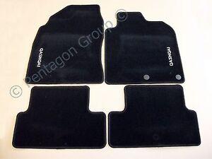 neuf d 39 origine nissan qashqai de luxe velours tapis sol moquette set ke755jd011 ebay. Black Bedroom Furniture Sets. Home Design Ideas
