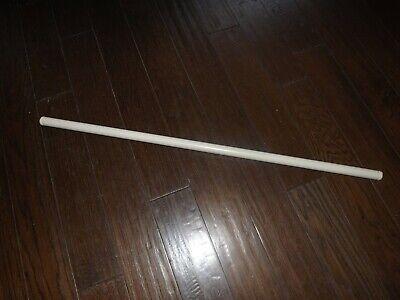 "IKEA Stolmen Metal Closet Rod Off-White 40 7/8"" long 1"" diameter Ships Free"