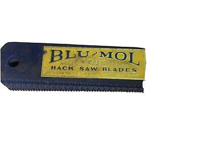 10pcs- 17 X 1 X .050 X 14t Power Hack Saw Blade Blu-mol 7414m