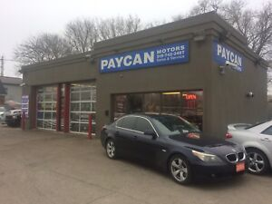 PAYCAN MOTORS FAST AND FRIENDLY AUTO SERVICE, LABOUR $55/HOUR