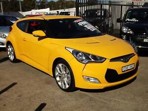 2013 Hyundai Veloster All Others Manual Coupe Leumeah Campbelltown Area Preview