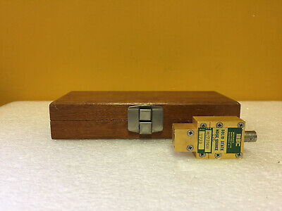 Microwave Semiconductor Mc7390w 38.7 To 39.3 Ghz Waveguide Noise Source. Tested