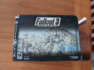 FALLOUT 3 COLLECTOR'S EDITION for PS3 – EXCELLENT CONDITION