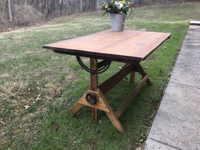 🔥 Mid Century / modern Drafting table, one of a kind 🔥