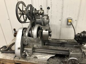 "Atlas 6"" lathe with bench and some basic tooling"